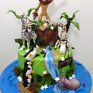 madagascar cake - Cake by Casta Diva
