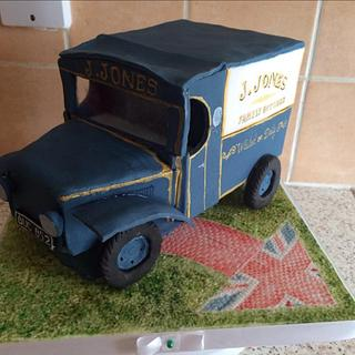 J.Jones Dad's Army Van