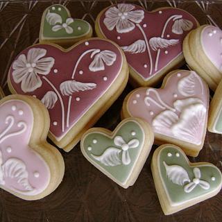 Pucker Up - Triple Lemon Heart Cookies