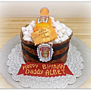 Vodka 1906 Cake