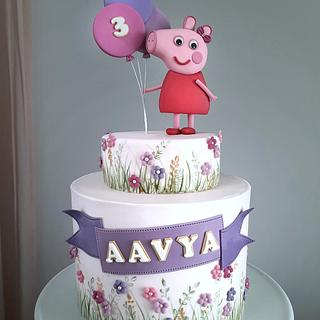 Peppa pig - Cake by Couture cakes by Olga
