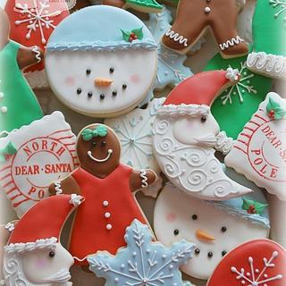 Santa is Coming! - Cake by Loren Ebert