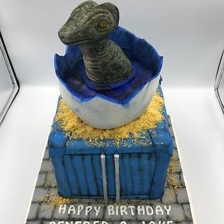 Dinosaur cake - Cake by Emmascakeshk