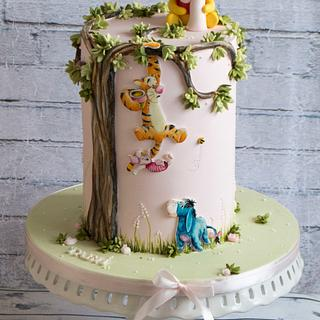 Winnie the Pooh - Cake by Vanilla & Me