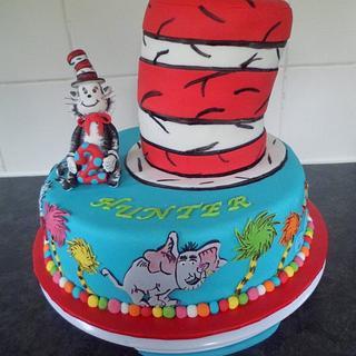 Dr Seuss Cake - Cake by Saphire