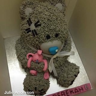 Me 2 You Tatty a Teddy cake