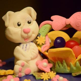 Easter bunny cake! - Cake by Harjeet kaur