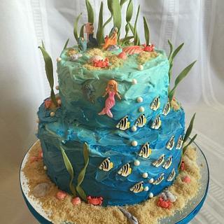 The Under the Sea cake - Cake by horsecountrycakes