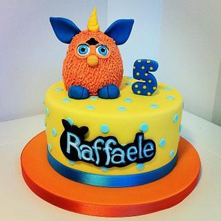 Furby Cake