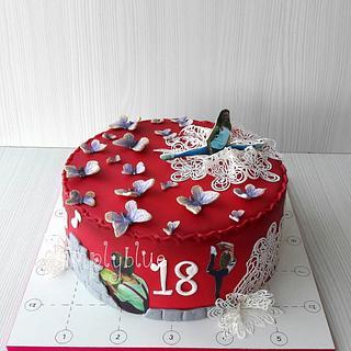 Ivi's cake - Cake by simplyblue