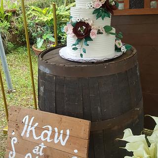Rustic Garden - Cake by Karamelo Cakes & Pastries