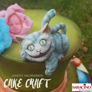 Cheshire Wonderland Hat