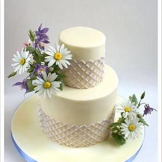 Simple Wedding Cake