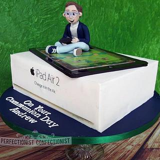 Andrew - iPad Communion Cake