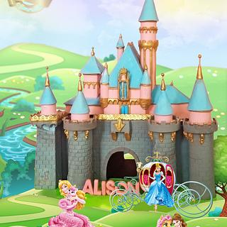 Disney Castle Replica Cake - Cake by C'est LAVIE Cakes and Pastries