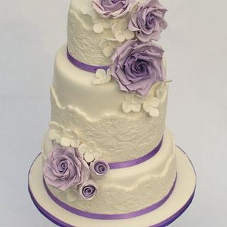 Purple Romance - Cake by Cakes by Jantine
