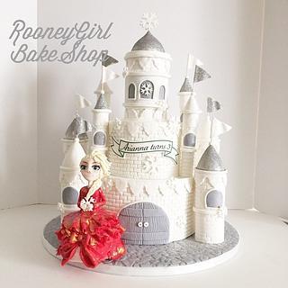 Winter Wonderland Castle and Elsa