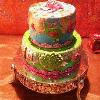 Bollywood Cake - Cake by Laura Jabri