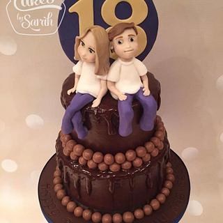 18th Birthday chocolate Cake!