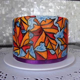 "Cake ""Autumn"""