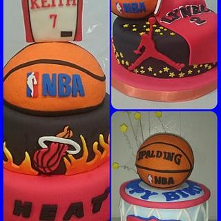 basketball themed cakes