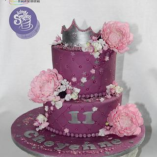Cake for Cheyenne -icing smiles - Cake by Jacqueline