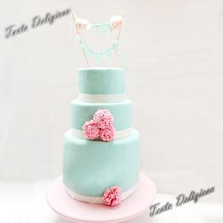 PomPom Wedding - Cake by Torta Deliziosa