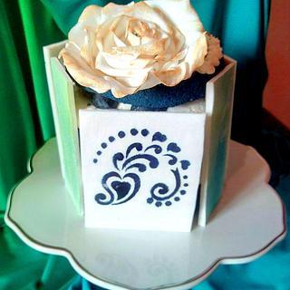 mother's day in blu... velvet - Cake by La Mimmi