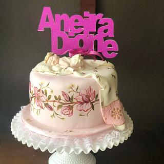 Christening Cake for Andi