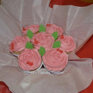 cupcake bouquet - Cake by glenda