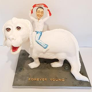 Never ending story cake