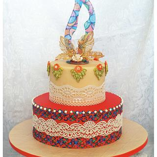 Autumn fall cake - Cake by Patricia M