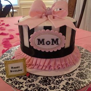 Incredible Moms Birthday 51 Cakes Cakesdecor Funny Birthday Cards Online Inifofree Goldxyz