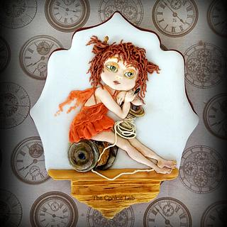 Wishing you a Fairy time.... - Cake by The Cookie Lab  by Marta Torres
