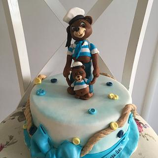 For Father and son - Cake by Doroty