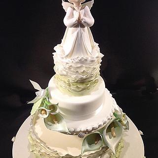 First Communion cake for Danila - Cake by Rossella Curti