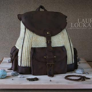 The Collectors Backpack - Cake by Laura Loukaides