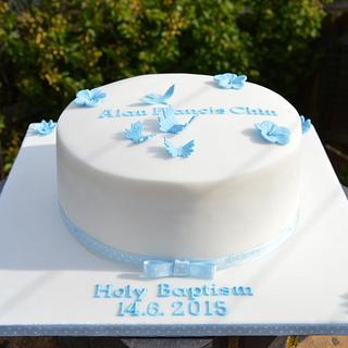 Christening Cake - Cake by Doro