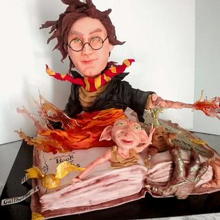 Harry Potter - Cake by carlaquintas