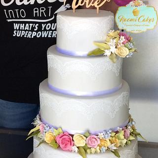 Wedding cake - Cake by Marlena