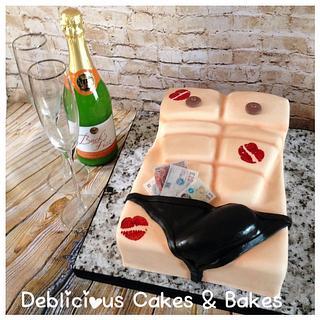 Hen do cake!