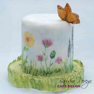 Little spring cake - Cake by Barbara Perego Cake Design