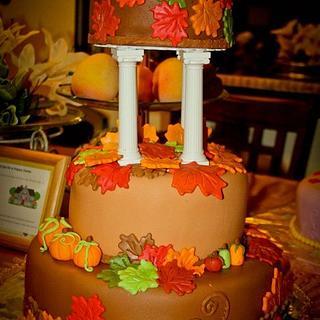 Fall-Theme Cake