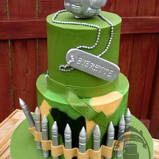 All about the soldier - Cake by Olga