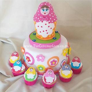 Babushka Ya Ya... - Cake by Angel, The Cupcake Lady