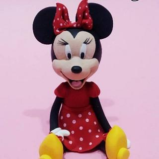 Minnie Mouse - Cake by Lucia Busico