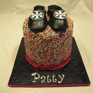 Tory Burch Sprinkles Cake