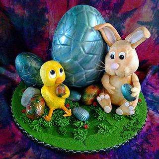 Taking eggbreak! CPC Easter Collaboration