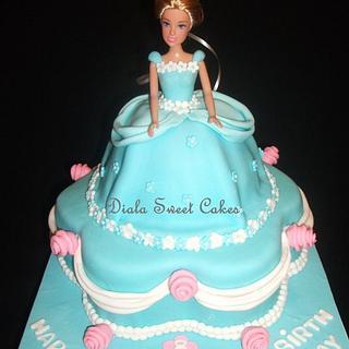Princess cake  - Cake by DialaSweetCakes