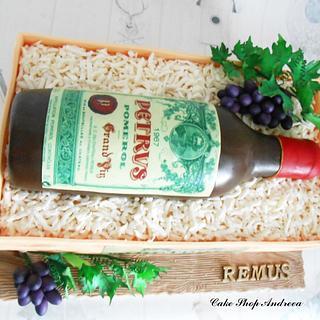 bottle of Petrus